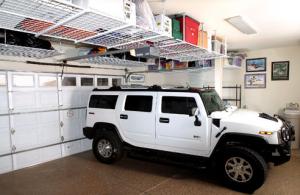 over car storage